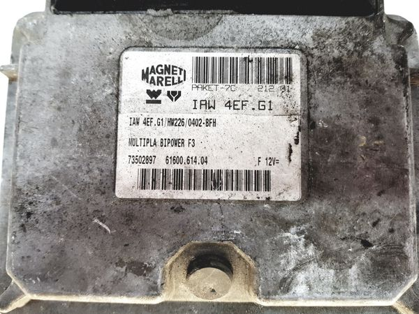 Motorvezérlő IAW4EF.G1 73502897 Fiat 28151