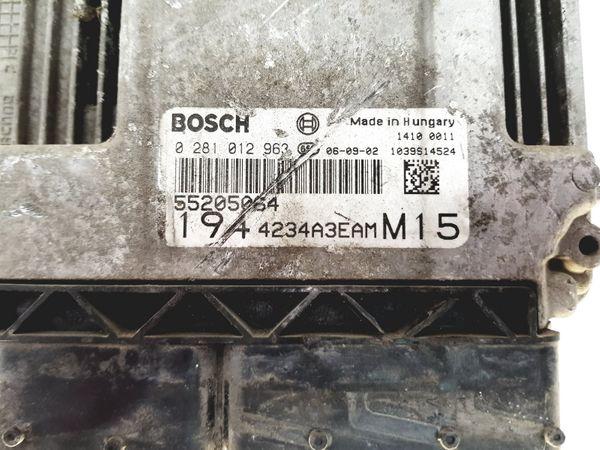 Motorvezérlő Egység 0281012963 55205064 Fiat Bosch 28149